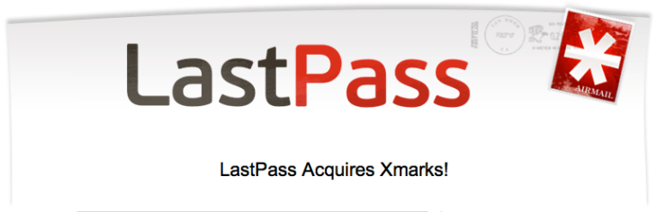 Lastpass acquires Xmarks