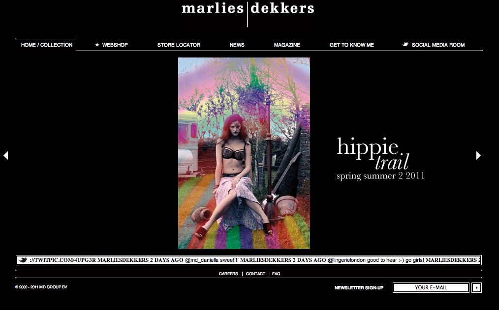 Marlies Dekkers Website