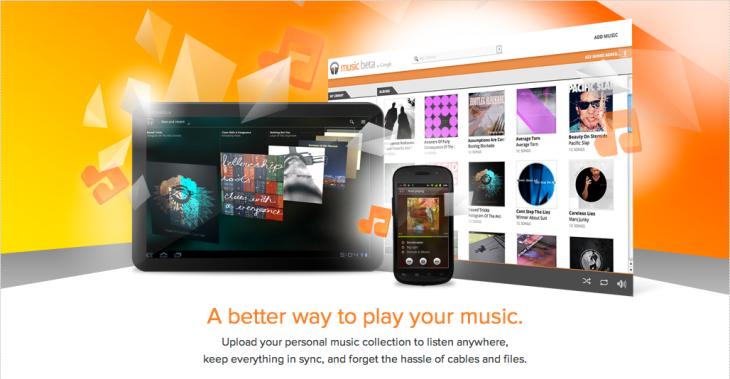 Music Beta bij Google