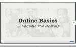 Presentatie: Online Basics - 10 handvaten voor onderweg