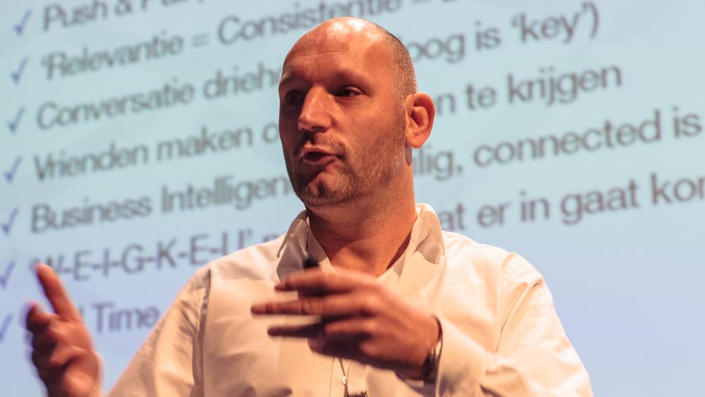 Denis Doeland tijdens de Jazzdag 2012