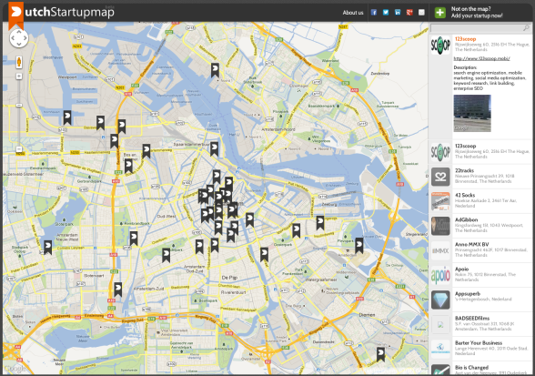 Dutch Startupmap