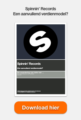 Download hier gratis de white paper - Spinnin Records - Een aanvullend verdienmodel