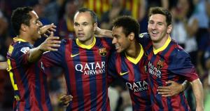 Iniesta Messi Neymar