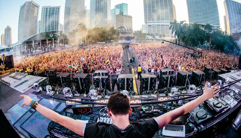 DJ at Ultra Music Festival