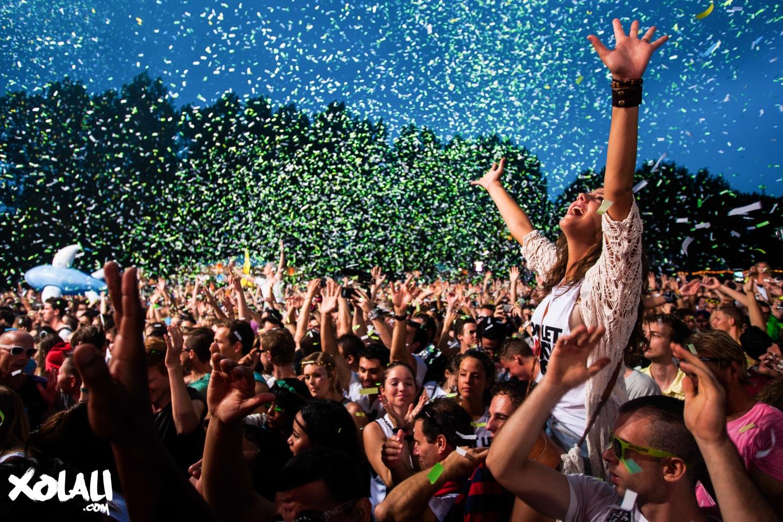 Sfeer op festivals