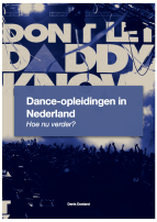 visiestuk dance opleiding in Nederland